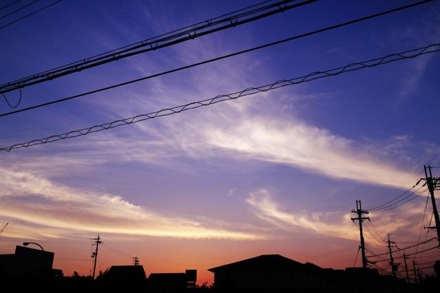 カメラのメジャー機能【ホワイトバランス】と【露出補正】を使っていろんな空を撮ってみた