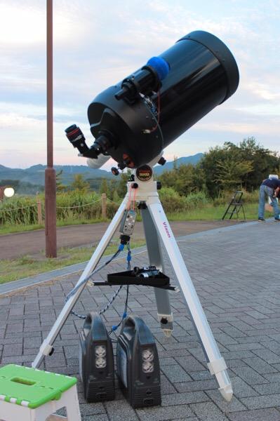 【天体望遠鏡で月と星をみよう 2017summer】開催のおしらせ