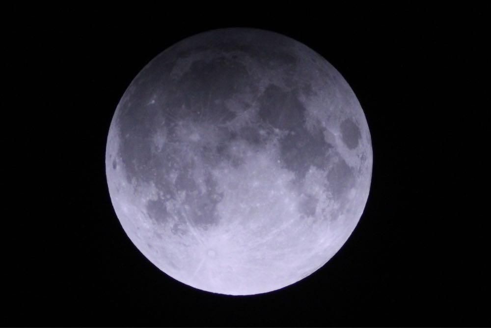 【3月23日】控えめすぎる月食【半影月食】