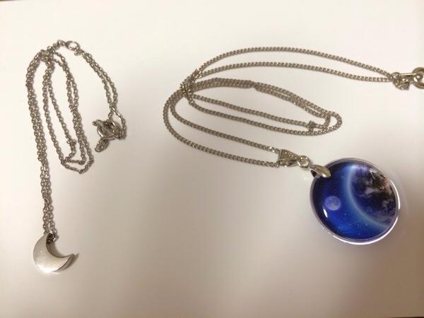 【普段使いOK!】 安くてカワイイ宙ガール的なネックレスを見つけた件