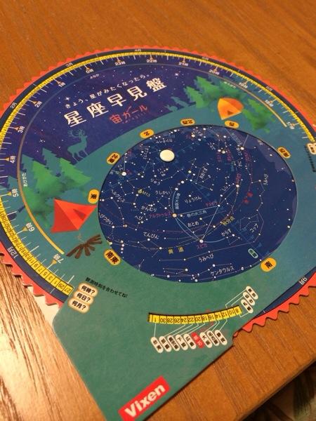 星座早見盤の楽しい使い方 その7 【おうちの宙の未来を見る使い方】