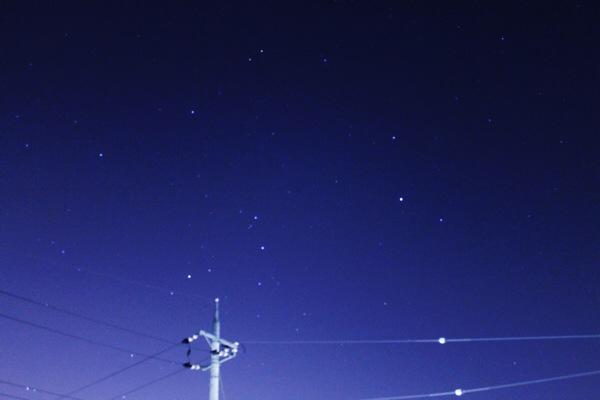 さそり座周辺の写真と星図を比べてみた!