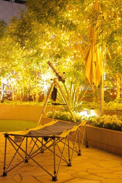 都会の隠れ家:京都センチュリーホテルの星空テラスに行ってみた