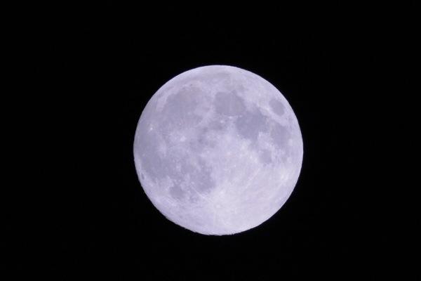 皆既月食が近いから、月写真の練習をしておこう