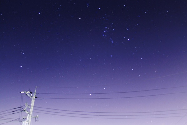 いつもより「ちょっとだけ」流れ星が見える確率が高い日【オリオン座流星群】