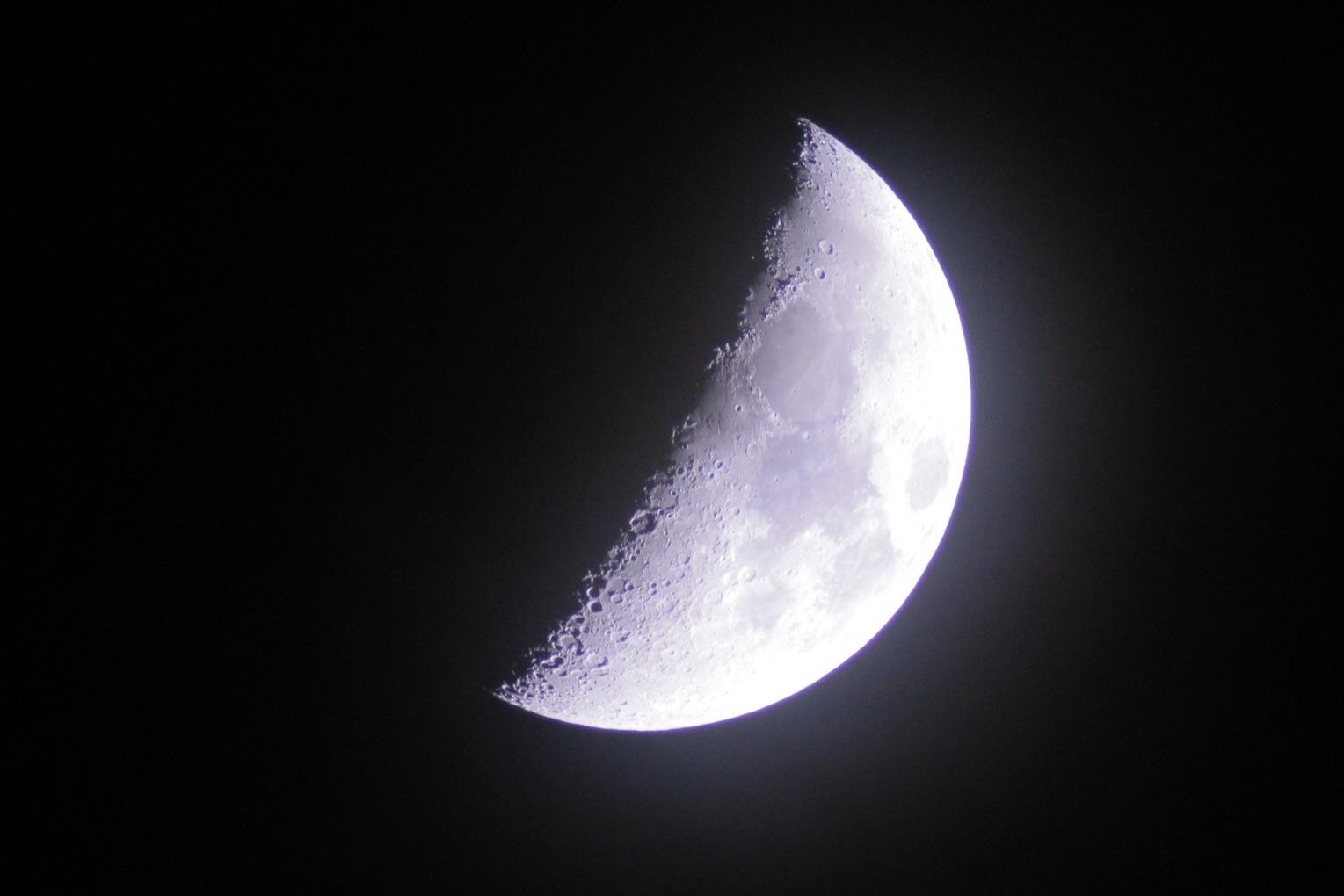 【双眼鏡で宙を遊ぼう】LEVEL3 欠けたお月様のクレーターを見よう