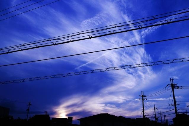 蒼く澄み渡る空を撮るカメラ設定のこと