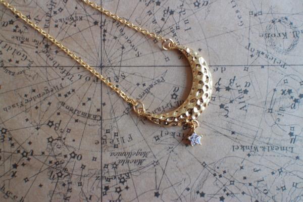【月】宙ジュエリーで「星食」という現象を知る