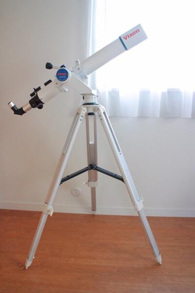 天体望遠鏡の使い方:月を見てみよう