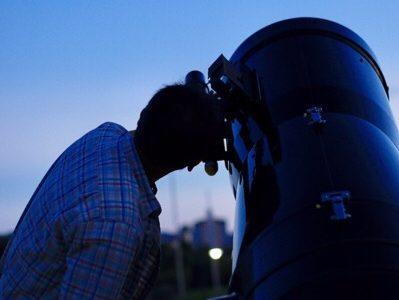 でんスポの空はこんなにも広い【天体望遠鏡で月と星を見よう開催レポート】