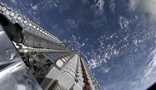 【スターリンク衛星】SpaceXがみせたリアル銀河鉄道