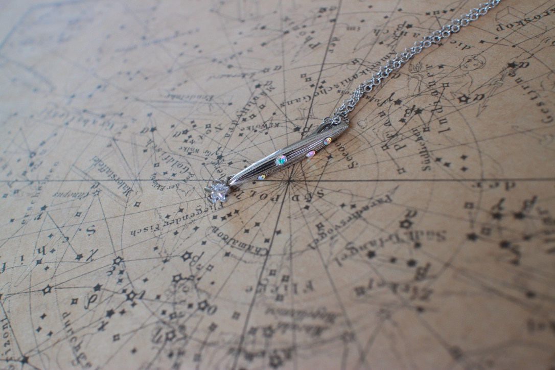流れ星とは何なのか?と宙ジュエリー【流れ星】を同時に紹介します