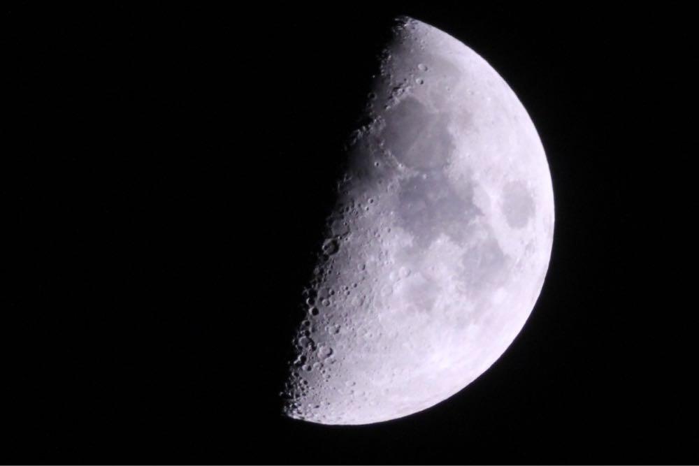 【月面X】天体望遠鏡で文字探し【2016年2月15日22時ごろ】