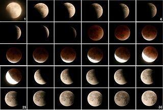 4月15日: blood moon (赤い月) のウソ!ホント!