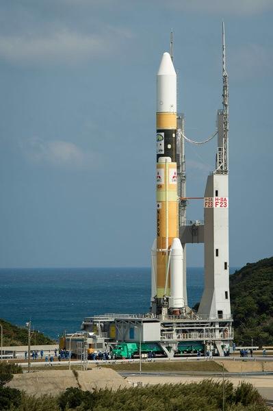 土曜のお昼はどこでロケット見る??【だいち2号/H-IIAロケット24号機の打ち上げ】