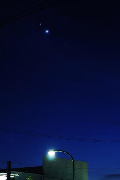 金木星を撮ってみた【iPhoneと一眼レフ】