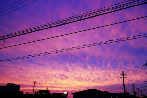 星が見えなくても撮れる空のこと【夕焼け写真】